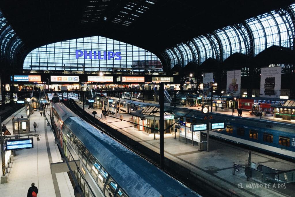 viajar en tren por alemania