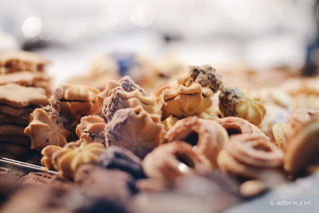 mercados de navidad en alemania. galletitas navideñas