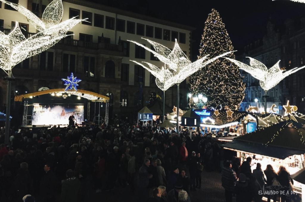 mercados de navidad en alemania. navidad en wiesbaden