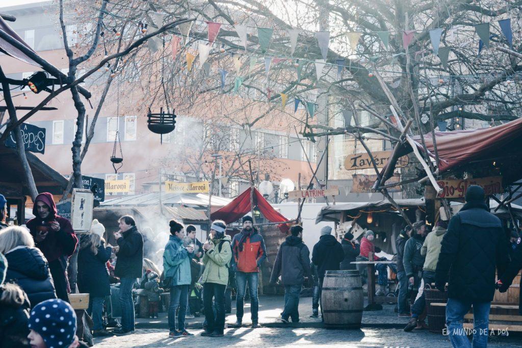 mercados de navidad en alemania. furth