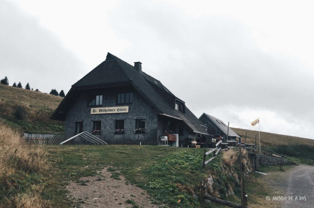 Feldberg cabaña. Selva negra en tres dias