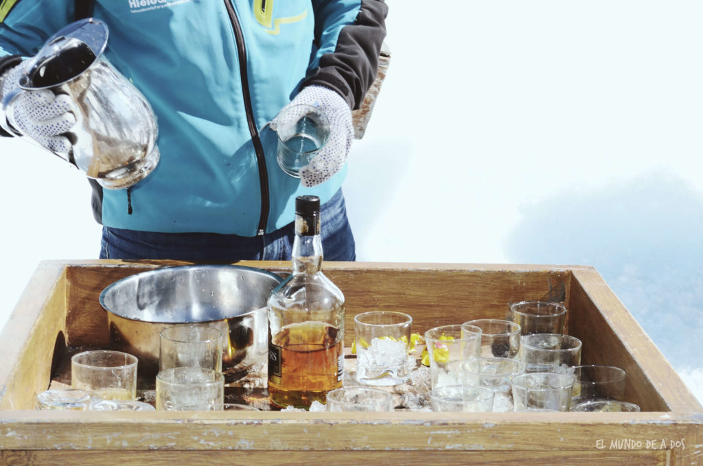 Whisky para combatir el frío. Viajar a El Calafate