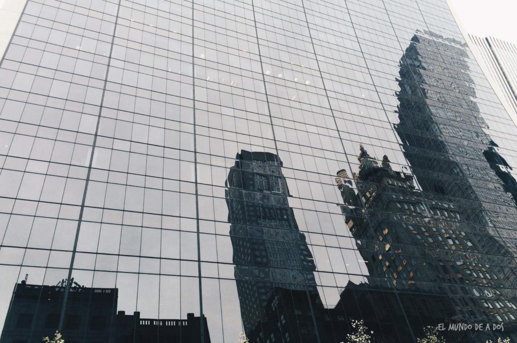 Reflejo. Escala en Nueva York