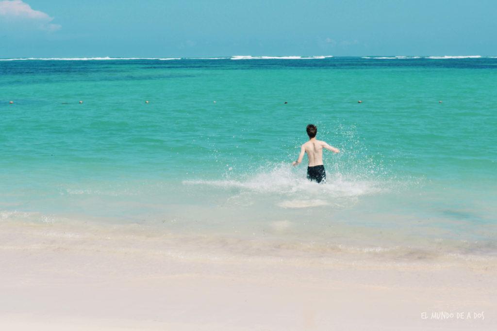 Playas paradisíacas. Punta Cana en octubre
