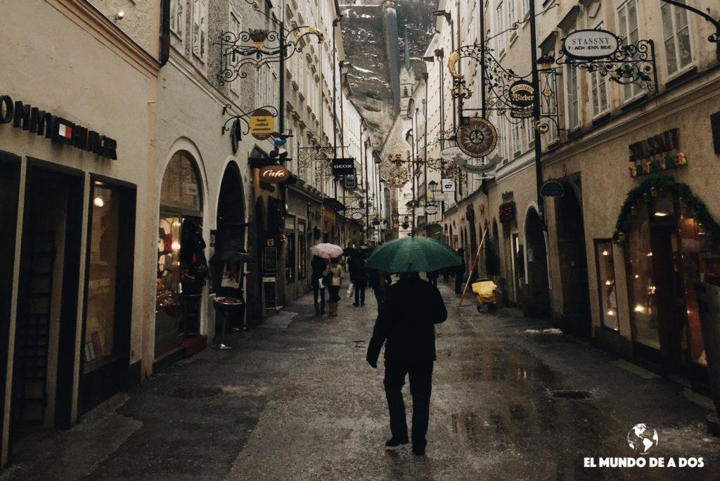 Peatonal. Salzburgo en un dia