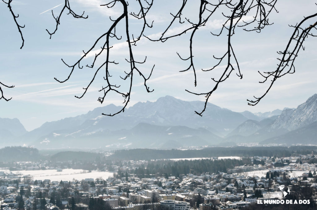 Desde el castillo. Salzburgo en un dia