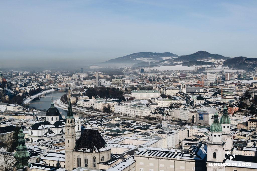 Ciudad de Salzburg. Salzburgo en un dia