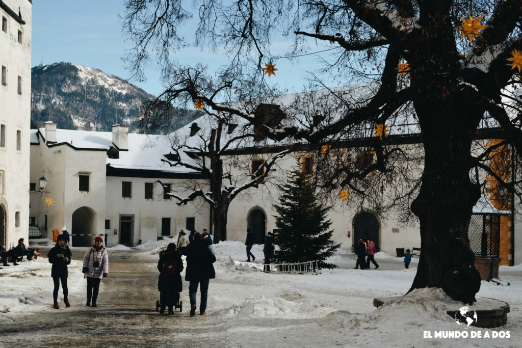 Bajo nieve. Salzburgo en un dia