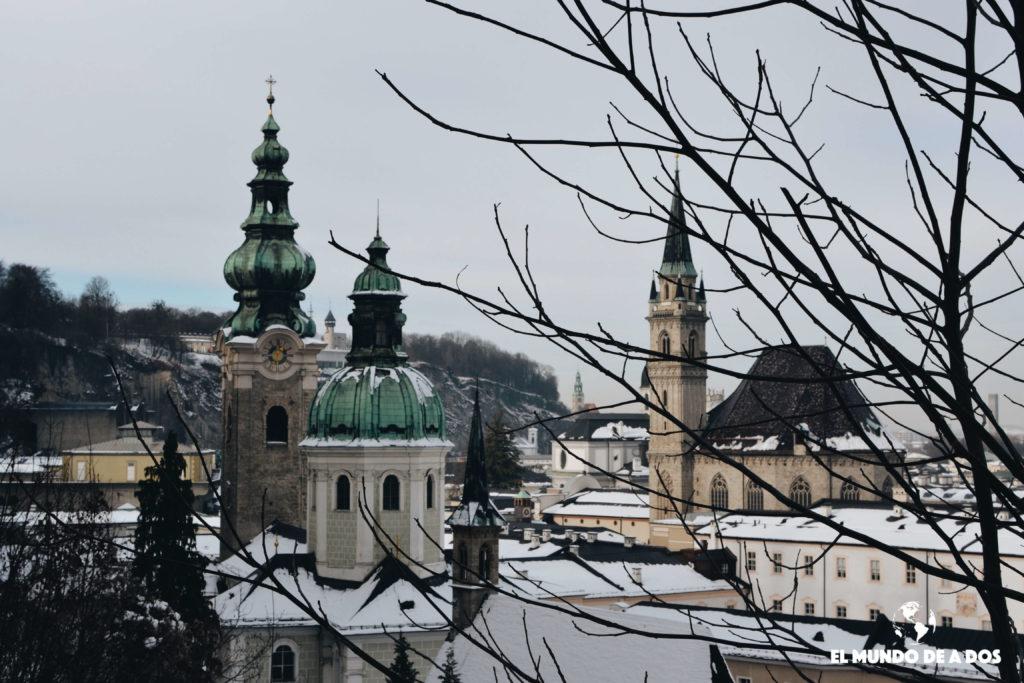 Caminando entre arquitectura. Salzburgo en un dia