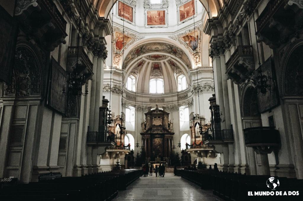 Catedral de Salzburgo. Salzburgo en un día.