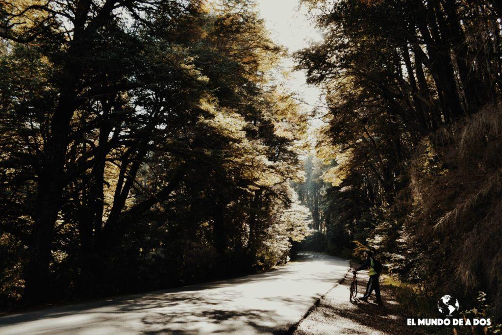 El Circuito Chico en bici. Bariloche en otoño
