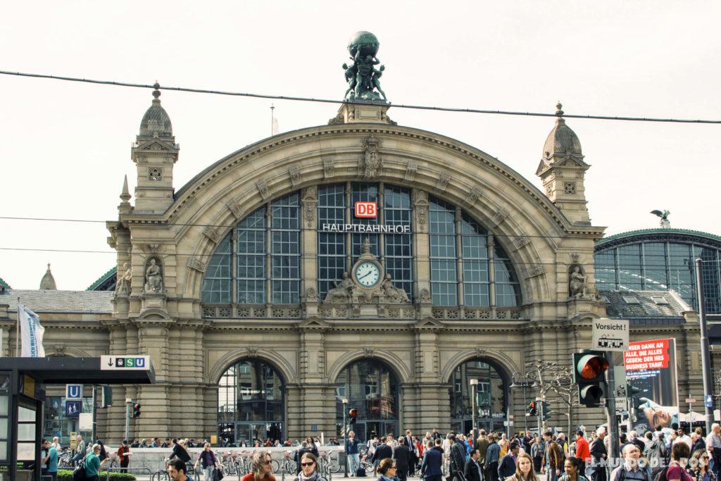 Estación central de Frankfurt. Curiosidades de Frankfurt