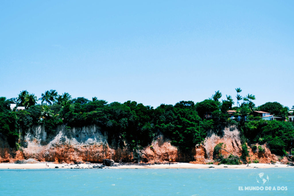 Playa de la bahía de los delfines. Playas de Pipa