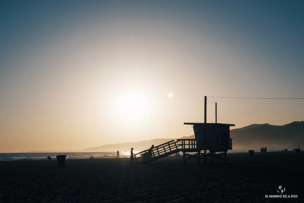 Santa Mónica. costa oeste de estados unidos