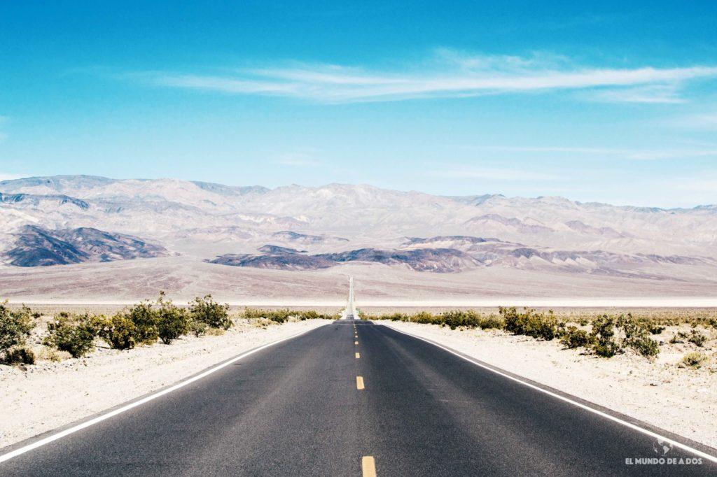 Death Valley. costa oeste de estados unidos