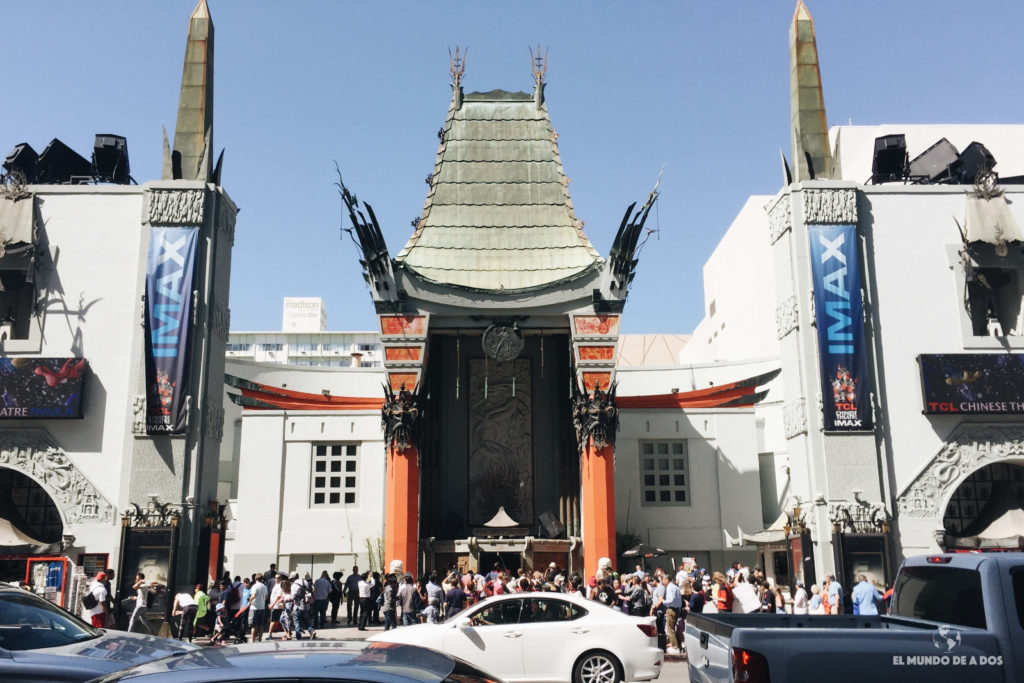 Teatro Chino de Hollywood. Lugares para visitar en Los Ángeles California