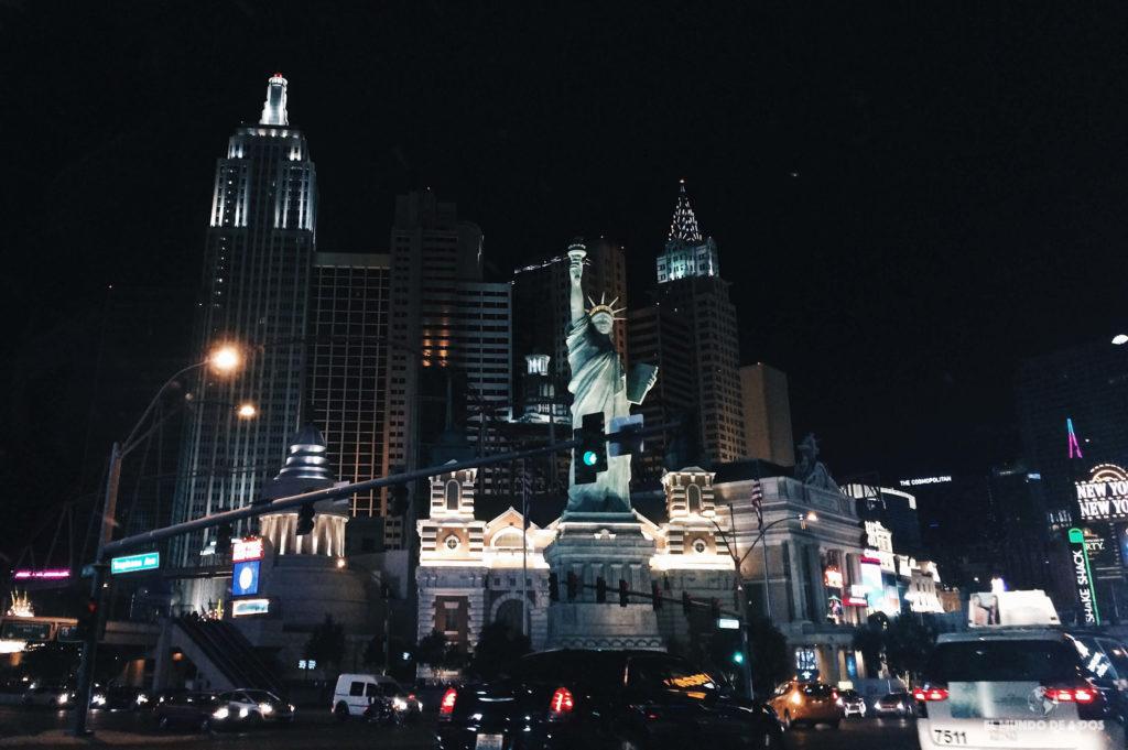 New York. Las Vegas en un día