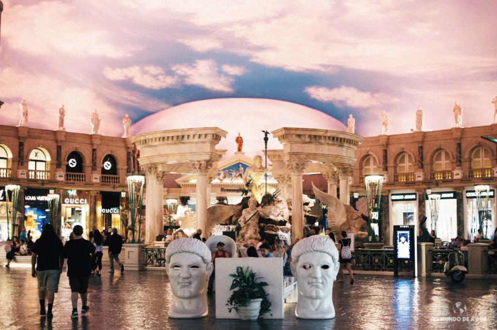 Caesars Palace. Las Vegas en un día