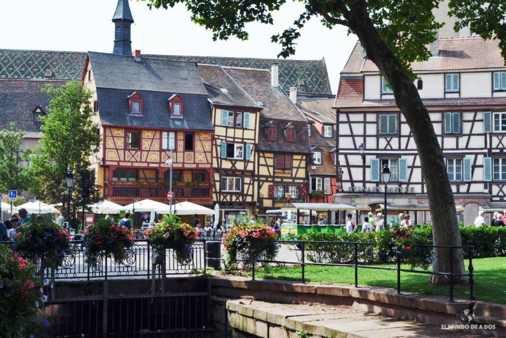 La zona del Unterlinden. Que ver en Colmar Francia