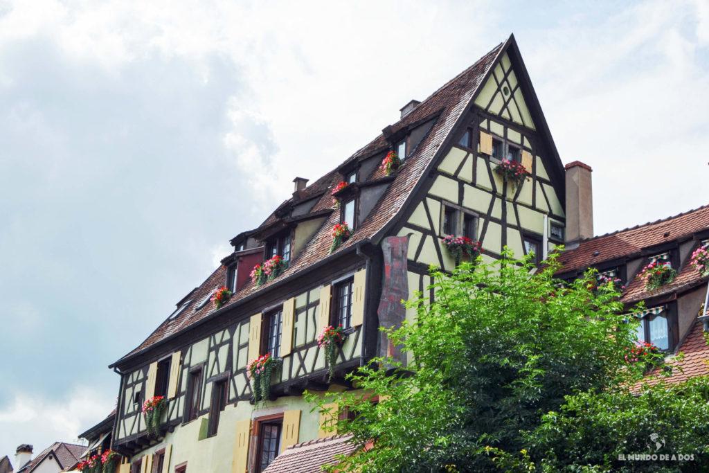 La arquitectura. Que ver en Colmar Francia