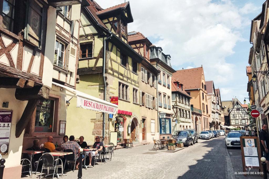 Caminando por Colmar. Que ver en Colmar Francia