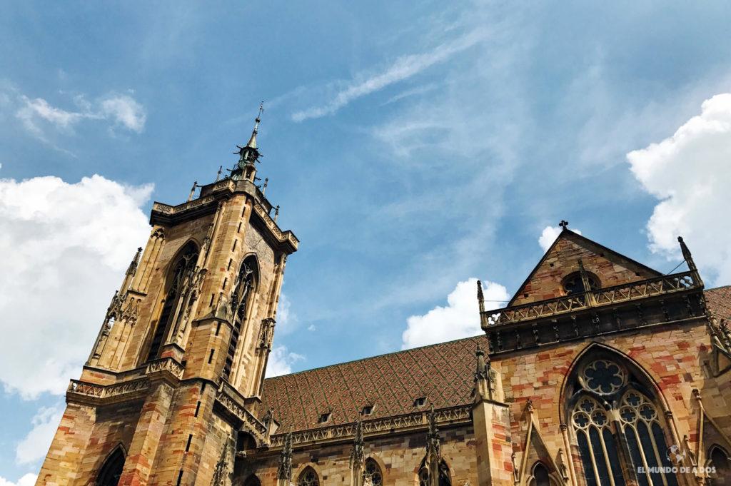 Catedral de Colmar. Que ver en Colmar Francia