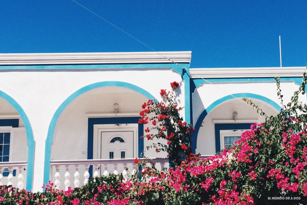 Las casas en Santorini. Que ver en Santorini en 3 días