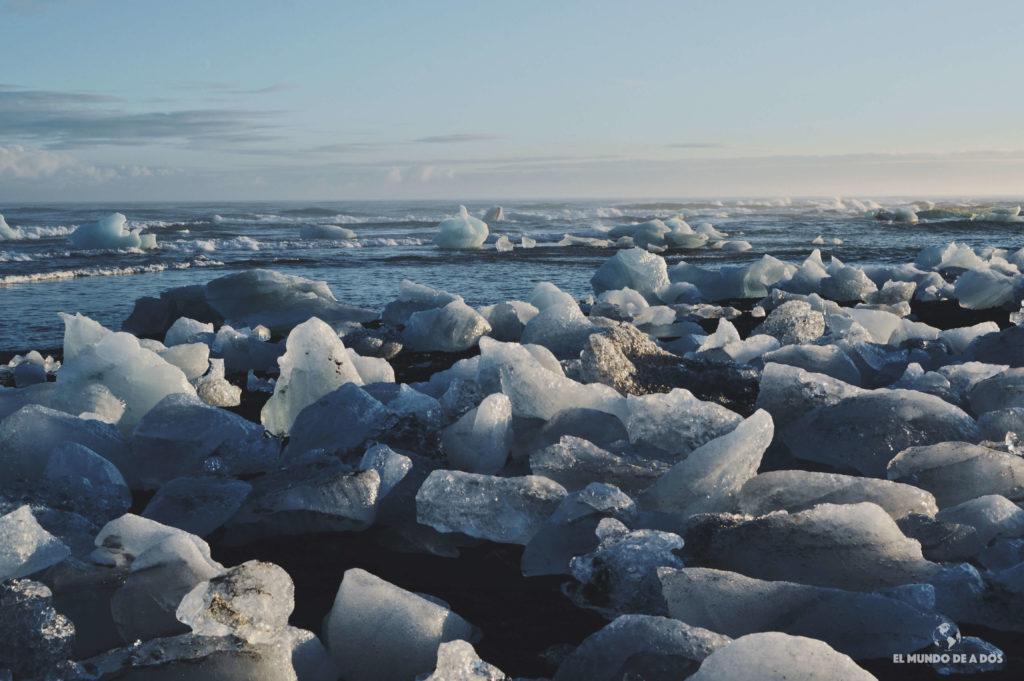 Playa de diamantes. Ruta por Islandia en 10 días