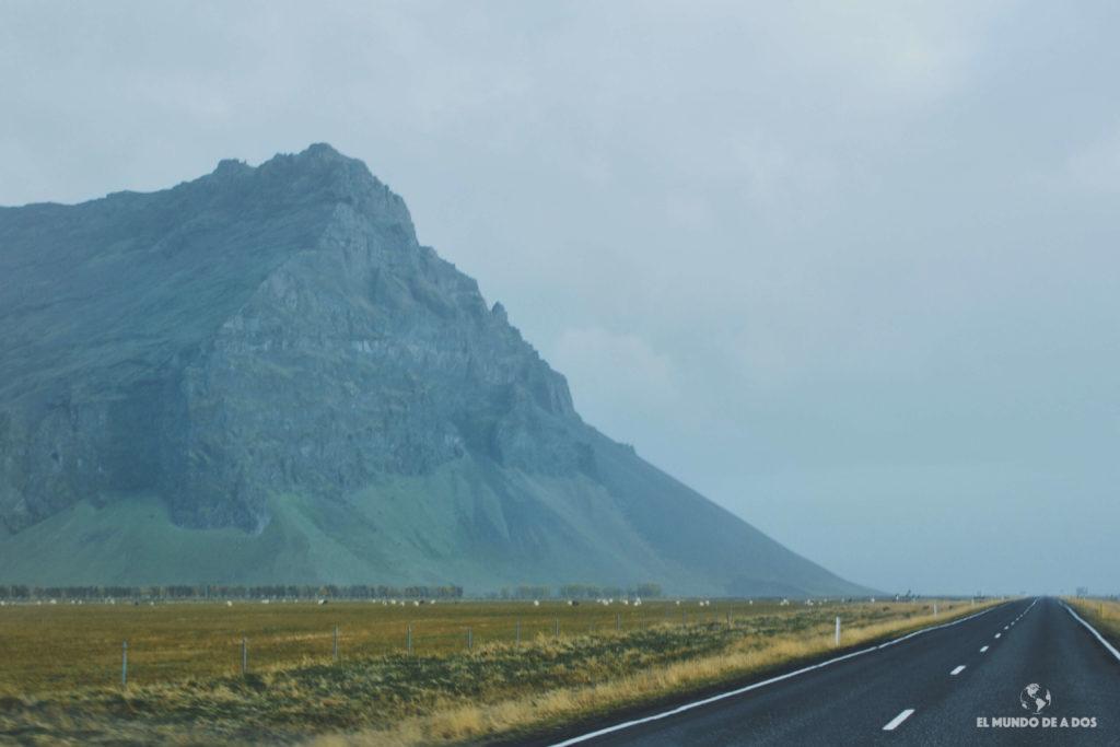 Manejando desde temprano. Ruta por Islandia en 10 días