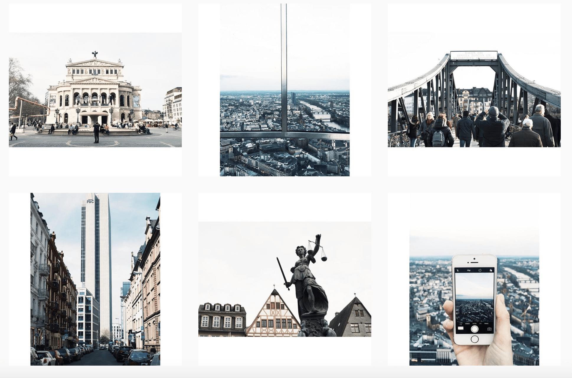 Feed ciudad. Como editar fotos en el celular