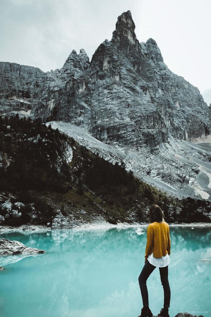 Ceci en el Lago Sorapis