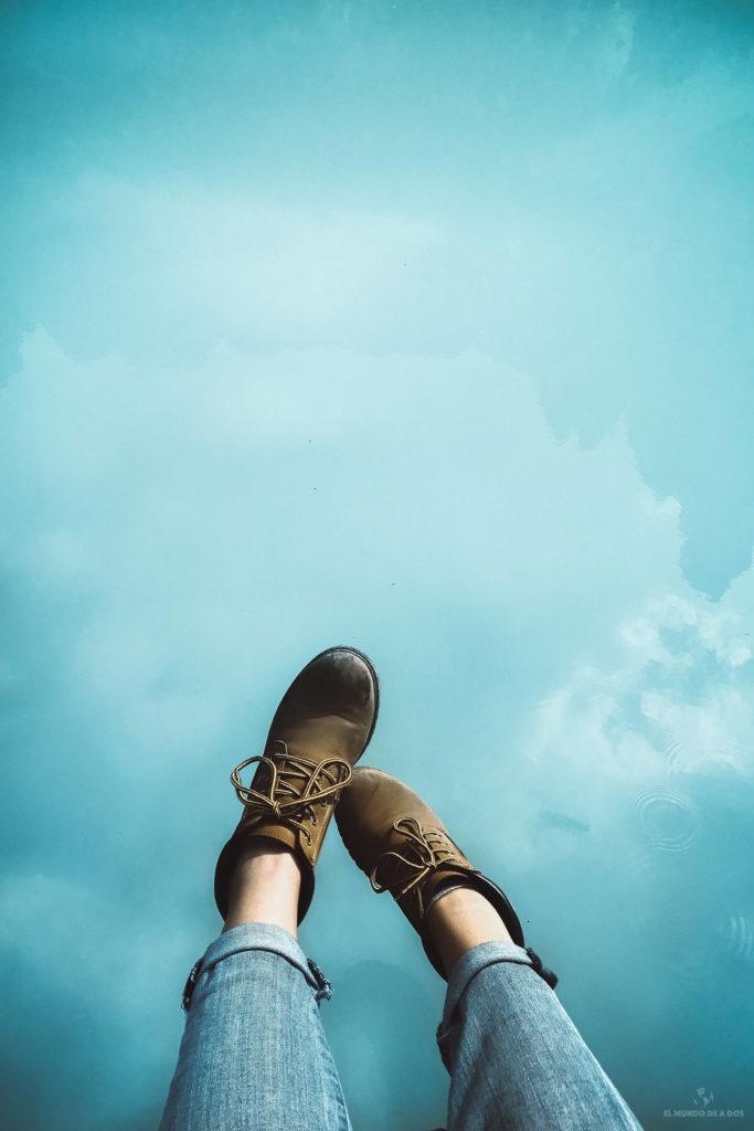 Con los pies en el Cielo. Lago Sorapis
