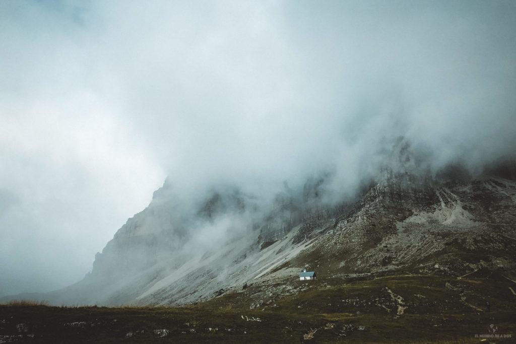 Capilla Degli Alpini. Las Tres Cimas de Lavaredo