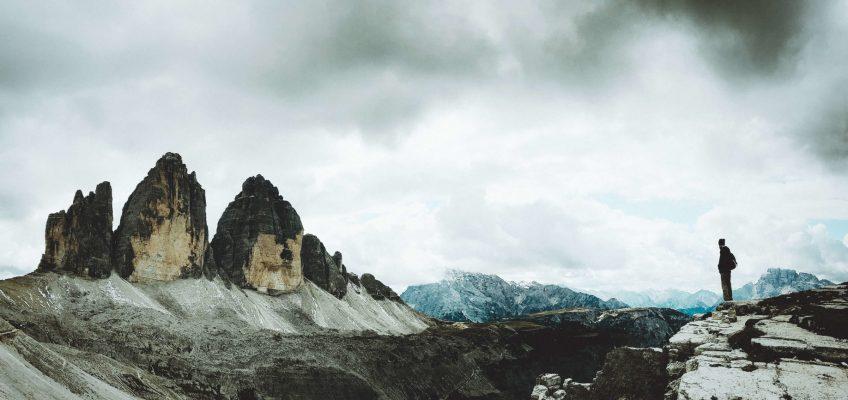 La inmensidad de la naturaleza. Las Tres Cimas de Lavaredo