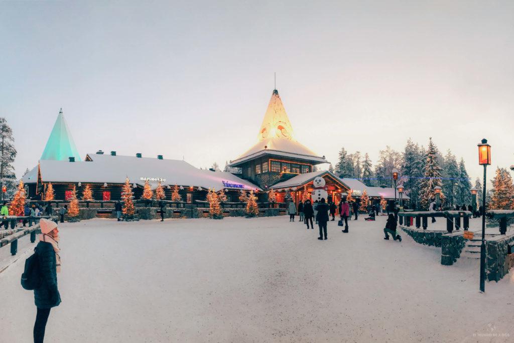 Santa Claus Village. Que ver en Laponia en invierno