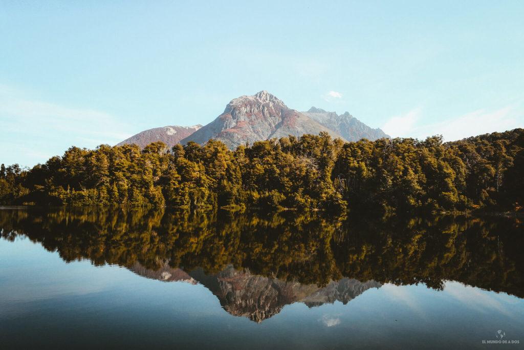 El Lago Espejo. Que hacer en Bariloche en verano.
