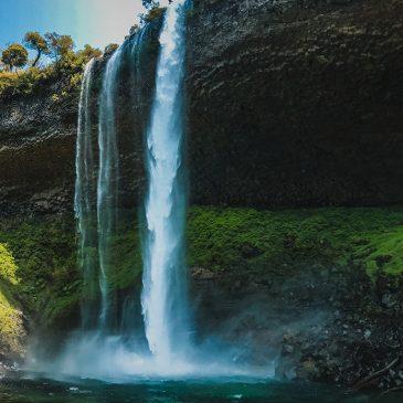 Cascada Santa Ana en Villa la Angostura. La joya oculta de la cordillera Argentina.