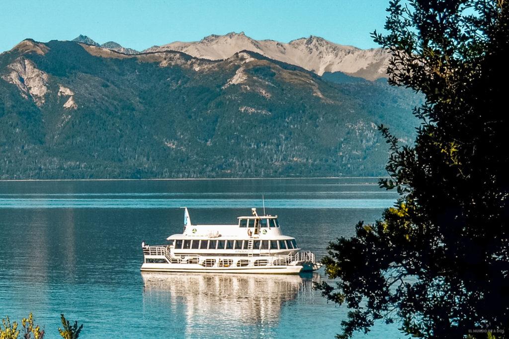Catamaran por el lago Nahuel Huapi