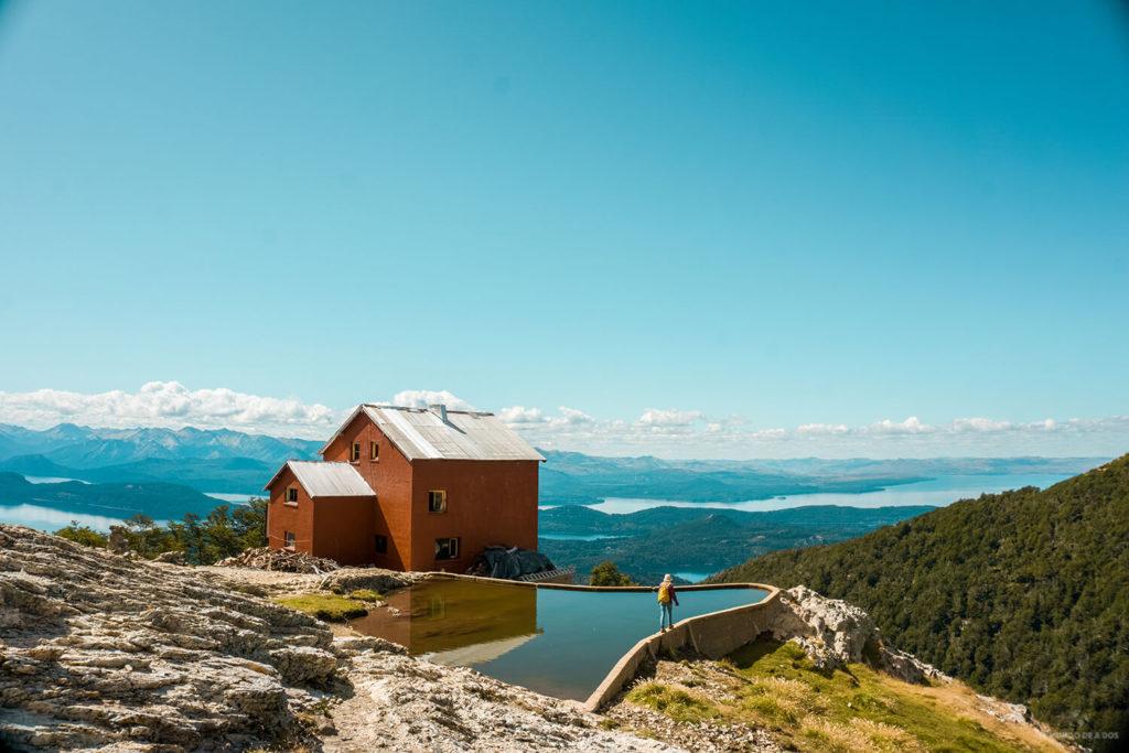 Refugio Lopez. Bariloche en Verano