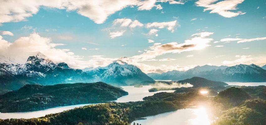 Increíble vista desde el Cerro Campanario Bariloche