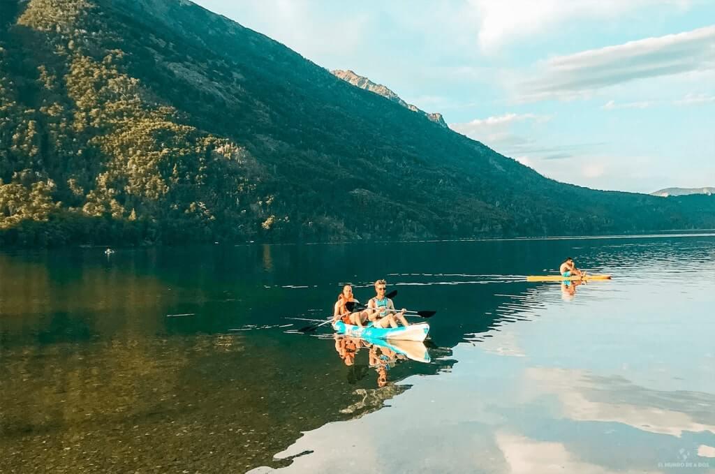 Kayak en Bariloche. Que hacer en Bariloche en verano